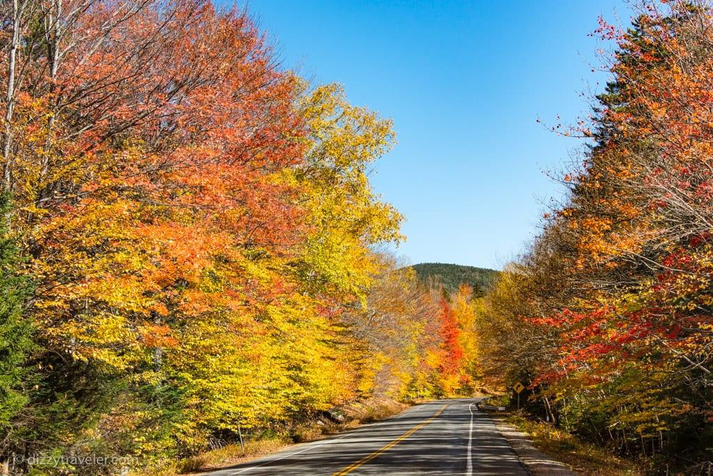 The Scenic Kancamagus Highway