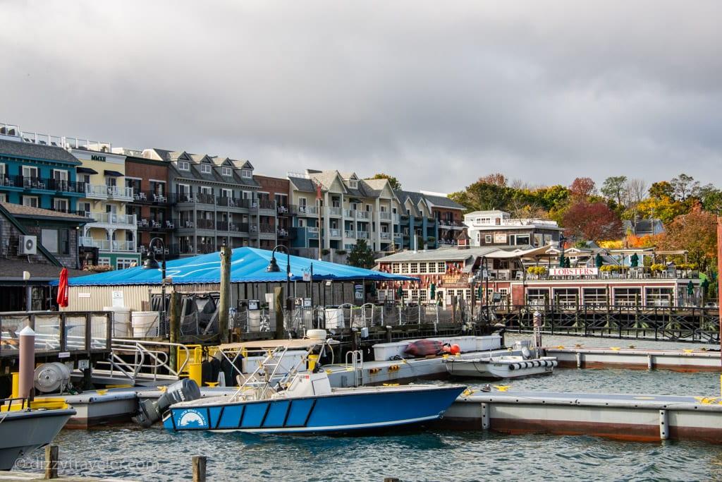 Exploring Bar Harbor Port, Maine