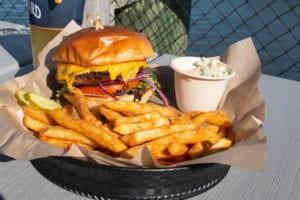Local Burger in Bar Harbor