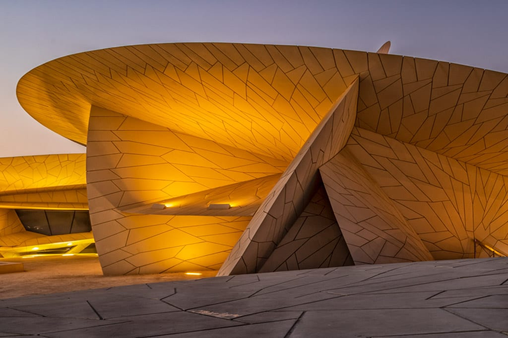 The National Muesum of Qatar