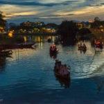 The Thu Bon River at night, Hoi An