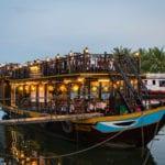 Romantic dinner cruise in Hoi An